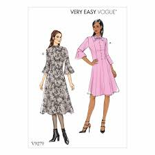 Vogue Dress Patterns Stunning Vogue Patterns V48 Misses' Petite Princess Seam Dress With