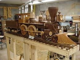 Large scale wood <b>model</b> trains | Wooden toy train, <b>Wooden train</b> ...