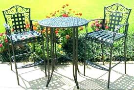 tall patio table. Tall Patio Furniture Set Chair Comfortable Outdoor Chairs Small Bistro Sets Charming Wrought Table