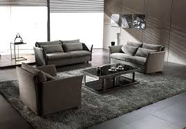 contemporary living room gray sofa set. Contemporary Couch Gray Fabric And Elegant Pillow Box Rectangular Plus Living Room Sofa Set