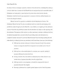 public policy in private markets essay doj vs amex et al  injunctive relief against 4