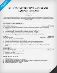 Resume For Executive Assistant Unique Best Administrative Assistant Resume New Resume For Executive