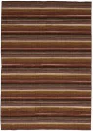 hand woven manhattan dark red wool dhurrie flat weave area rug