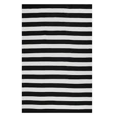 nantucket black white outdoor rug