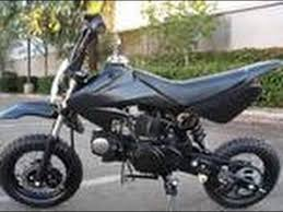 cold starting my new 110cc pit bike youtube