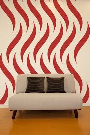 Small Picture Geometric Wall Decal Flames Wall Decal Fire Wall Decal Tribal