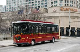 Chicago Trolley Christmas Lights Chicago Holiday Lights Tour Holiday Trolley Tour Chicago