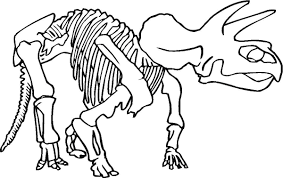 Dinosaur Bones Coloring Pages Coloring Pages Pictures Imagixs