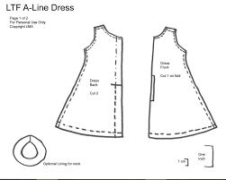 A Line Dress Pattern Mesmerizing LMA A Line Dress Pattern Pt48 V48 These Are The Pattern Pi Flickr