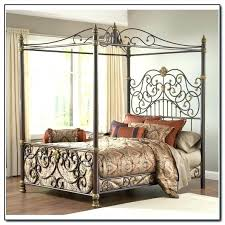 Iron Canopy Bed Metal Canopy Bed Queen Wrought Iron Fabulous China ...