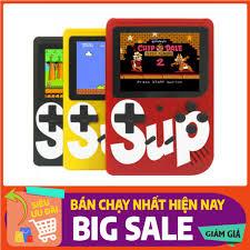 Máy chơi game 4 nút cầm tay 400 trò chơi sup game box 400 in 1/ Máy game  sup 400 in 1 cổ điển full phụ kiện, Giá tháng 10/2020