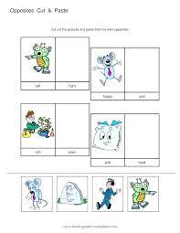 opposite words worksheets for kindergarten – kurkov