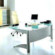 metal and glass desk cocinabuelainfo