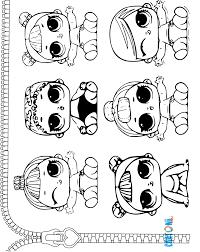 Lil Da Colorare Cartoni Animati