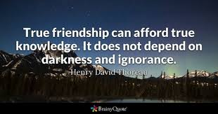True Friendship Quotes BrainyQuote Extraordinary Serious Quotes On Friendship