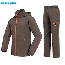 <b>Men&Women Quick Dry Breathable</b> Jackets Pants Outdoor Sports ...