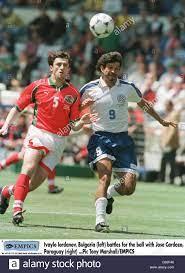 Calcio - Coppa del Mondo in Francia 98 - Gruppo D - Paraguay v Bulgaria  Foto stock - Alamy