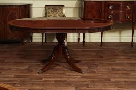 solid mahogany 4 leg pedestal