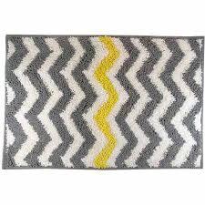 most yellow bath rug astounding mainstays chevron com