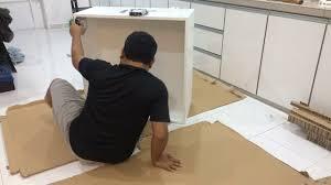 Diy Ikea Metod Wall Cabinet Frame Malaysia Youtube