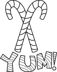 Small Picture FREE Printable Candy Canes Coloring Page for Kids 2