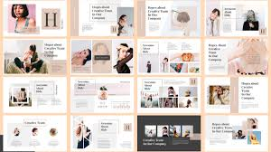 Ppt Style Spark Fashion Powerpoint Template