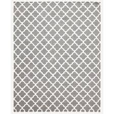 baytar grey trellis wool flat weave floor area rug