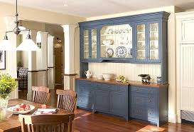 blue kitchen hutch contemporary buffet dining room storage cabinet throughout large kitchen hutch