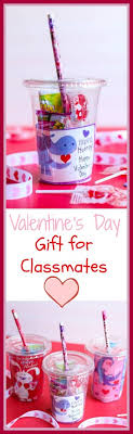 these cups are the cutest and sweetest diy valentine s day gift for classmates they can