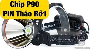 Đèn đội đầu siêu sáng V64 800W Chip P90 Pin tháo rời lh 0964.800.369 -  YouTube