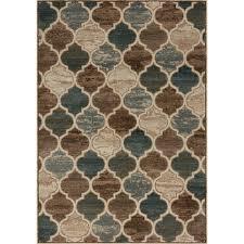 cozumel moroccan pattern rug  beigebrown kalora interiors inc