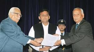 Sanjay Misra takes oath as Lokayukta | Cities News,The Indian Express