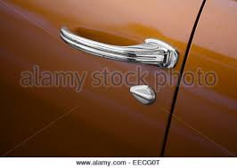 Detail shot with a vintage car door handle Stock Photo 79472515 Alamy