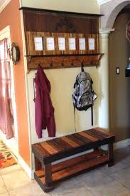 Entryway Bench And Coat Rack Plans Entryway Bench With Coat Rack And Storage Bench And Hooks Hall Tree 79