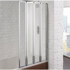 corner baths with shower screen. aquadart venturi 6 4 fold bath screen corner baths with shower