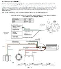 holley hp efi mallory 42 series distributor and mallory the diagram clearly depicts a magnetic pick up type crank sensor distributor wiring 2 wires and a shield all magnetic pick up s that i ve ever seen