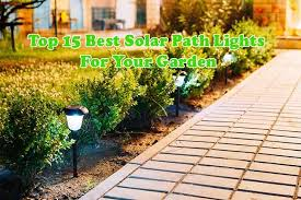 Top 15 Best <b>Solar</b> Path <b>Lights</b> For Your <b>Garden</b> 2019 | Reviews and ...