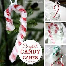 Christmas Decorations With Candy Canes Crystal Candy Canes Christmas Science Experiment 35