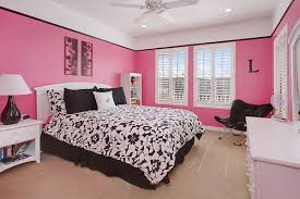 Delightful Black White And Pink Bedroom Ideas