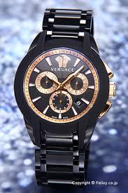 trend watch rakuten global market versace versace mens watch versace versace mens watch character chronograph anime chronograph all black rose gold