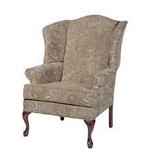 great elaina cream paisley print wingback accent chair greyson for brilliant paisley chair trendideen regarding