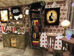 alice in wonderland bedroom decor 9