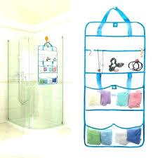 door hanging shower caddy travel shower cads image of over door hanging basket organizer over door