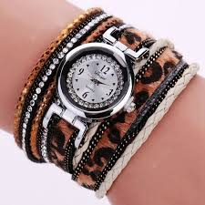 Duoya Vintage <b>Ladies</b> Quartz Movement Stainless Steel Bracelet ...