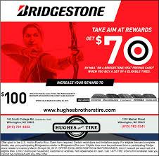 bridgestoietake aim at rewardsgetby mail on a bridgestone visa prepaid card4when you a set