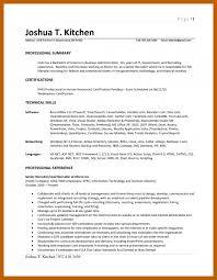 3 4 Resume Heading Example Resumesheets