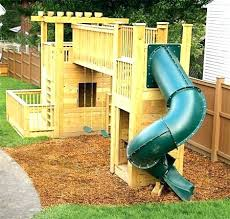 small backyard playground ideas plans when it came time to transform our playset outdoor wooden outdoor wood by backyard playset plans