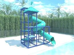 above ground pool slide swimming ideas slides best diy water with sw