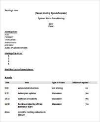 Agenda Format Sample 7 Simple Agenda Sample Free Sample Example Format Download