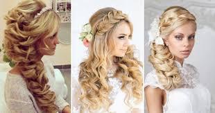 Svatební účes Volné Svatební účes Pro Dlouhé Vlasy Nejmódnější A